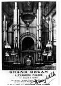 Charity Willis Organ concert at Ally Pally