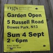 Open Garden: Bowes Park