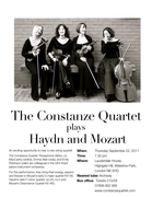 Constanze Quartet plays Haydn and Mozart