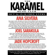 Karamel Music Club Night (Free)
