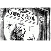 Working Title Comedy Night at the Big Green Bookshop