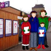 Carols at Harringay Station