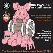 Pig's Ear Beer & Cider Festival