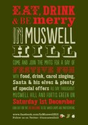 Eat, Drink and Be Merry in Muswell Hill