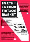 North London Vintage Market - Christmas Special Dec 1st!