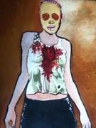 Too Sane For This World.  Art at Moka