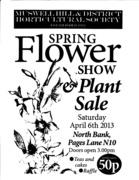 Spring Flower Show & Plant Sale