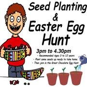 Seed Planting and Easter Egg Hunt  - Gardens Community Garden (GRA)