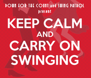 Keep Calm and Carry On Swinging