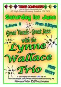 The Lynne Wallace Trio live at the Three Compasses