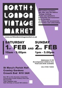 North London Vintage Market - 3rd Birthday 2 day special! February 1st & 2nd