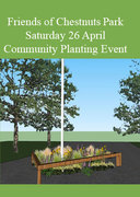 Chestnuts Park Community Planting and Family Art