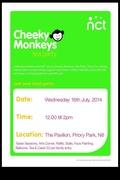 NCT Cheeky Monkey's Tea Party