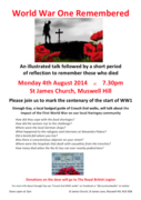 World War One Remembered