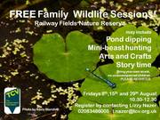 Family Wildlife Session at Railway Fields