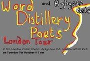 THE WORD DISTILLERY  POETS 2014 LONDON TOUR