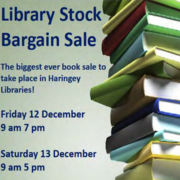 Two Day Library Stock Bargain Sale @ Wood Green, Hornsey, Marcus Garvey