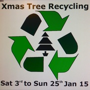 Last chance to recycle your Xmas tree in Gardens Community Garden