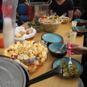 Free PACT community meals