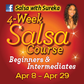 BEGINNERS AND INTERMEDIATES 4 week SALSA COURSE! (Start Date)