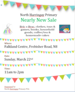 North Harringay Primary Nearly New Sale
