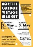 North London Vintage Market - Early May bank holiday edition