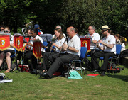 Barnet Band Playing in The Grove, Alexandra Park