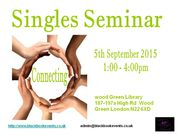 Singles Seminar
