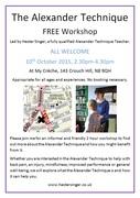 FREE Alexander Technique Workshop