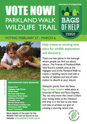 Vote at Tesco for a Parkland Walk Nature Trail