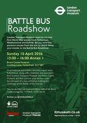 Battle Bus Roadshow - comes to Bruce Castle