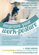 Improve your Work-Posture balance with 2 part course