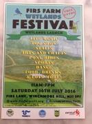 Firs Farm Wetland Free Festival and Wetland Launch