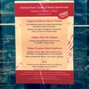 Fairland Park Classical Music Spectacular, Sat June 25