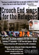 CROUCH END SINGS FOR THE REFUGEES (NEXT SATURDAY)!