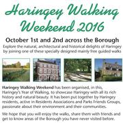 Haringey Walking Weekend