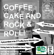 Cake Coffee and Rock & Roll - A Tribute to the 2i's Coffee Bar