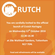 Crutch Haringey Official Launch