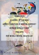 Free Art Exhibition: 'Seasons of the Mind' by Marius Els