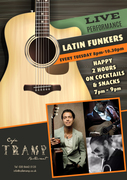 The Latin Funkers LIVE PERFORMANCE AT TRAMP