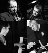 Jazz at Karamel: Alan Barnes, Kate Williams, Dave Green, Stu Butterfield