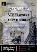 'STEELworks' Paintings & drawings by Andy Thornley