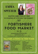 Emma Spitzer at Fortismere Food market