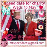 Charity speed dating night