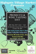 Highgate Village Market Prosecco and Wine Tasting Day