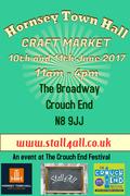 Hornsey Town Hall Craft Market