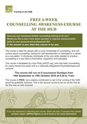Free 6 Week Counselling Awareness Course