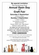 Scratching Post Craft Fair Sunday (Day Two)