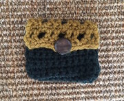 Crochet And Coffee (little purse for beginners)