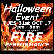 Halloween Event with Fire Performance